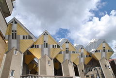 The Cubic Houses of Rotterdam 4 Stock Image