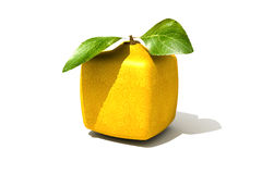 Cubic lemon Stock Image