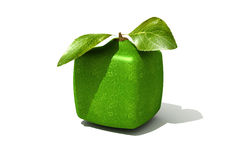 Cubic lime Royalty Free Stock Images