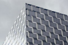 Cubic Patterned Building Royalty Free Stock Photos