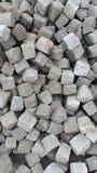 Cubic rocks Stock Photos