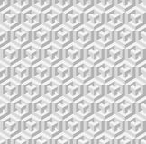 Cubic seamless pattern. Vector illustration. EPS 10 Royalty Free Stock Images