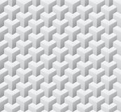 Cubic seamless pattern. Vector illustration. EPS 10 Stock Photography