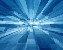 Cubic space Royalty Free Stock Images