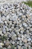 Cubic stone Stock Images