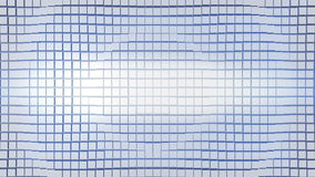 Cubic surface in motion. Loop ready animation of cubes moving wave stock footage