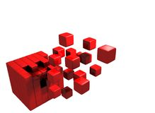 Cubic Whole Stock Photography