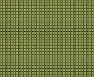 Cubic yellow pattern on  metal Stock Photos