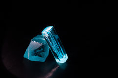 Cubic Zirconia Rough Stock Photos