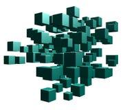 Cubica caos Imágenes de archivo libres de regalías