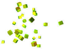 Cubical abstract Stock Image