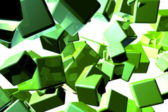 Cubical abstract Stock Images