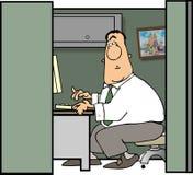 cubicleman Arkivfoton