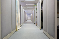 Cubicles in Office Space Stock Photo