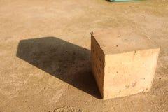 Cubico e luce solare immagine stock libera da diritti