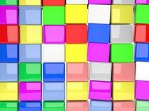 Cubics 3d foto de archivo libre de regalías