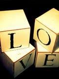 Cubid-Liebe Stockbild