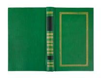 Cubierta abierta vacía del Libro verde fotos de archivo libres de regalías