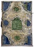 Cubierta aislada de la biblia ortodoxa Fotografía de archivo libre de regalías