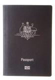 Cubierta australiana del pasaporte Imagen de archivo libre de regalías