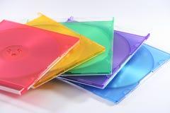 cubierta Cd de los colores fotos de archivo