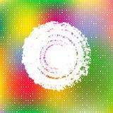 Cubierta colorida abstracta Foto de archivo libre de regalías