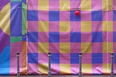 Cubierta colorida de la pared en Moscú Foto de archivo libre de regalías