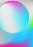 Cubierta colorida elegante Imagen de archivo libre de regalías