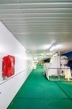 Cubierta de barco de la travesía Imagen de archivo libre de regalías
