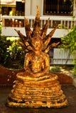 Cubierta de Buddha con la hoja de oro Fotos de archivo libres de regalías