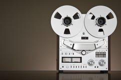 Cubierta de carrete del registrador de cinta de la vendimia Fotografía de archivo