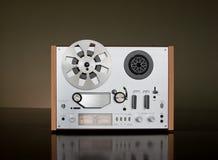 Cubierta de carrete del registrador de cinta de la vendimia Imagenes de archivo