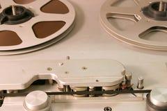 Cubierta de cinta abierta del carrete del estudio fotografía de archivo libre de regalías