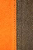 Cubierta de cuero Imagen de archivo libre de regalías