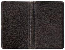 Cubierta de cuero - marrón Imágenes de archivo libres de regalías