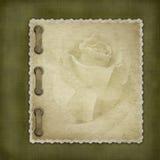 Cubierta de Grunge para un álbum Ilustración del Vector