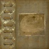 Cubierta de Grunge para un álbum con las fotos Imagen de archivo libre de regalías