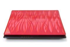 Cubierta de la pintada de la computadora portátil. Fotografía de archivo libre de regalías