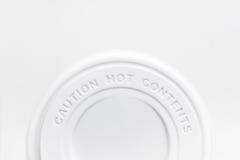 cubierta de la taza de café Foto de archivo