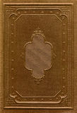 Cubierta de libro antigua Fotografía de archivo