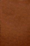 Cubierta de libro de cuero roja Fotografía de archivo