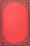 Cubierta de libro de la vendimia Imágenes de archivo libres de regalías