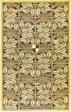 Cubierta de libro de la vendimia Foto de archivo