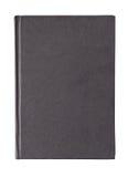 Cubierta de libro negro Fotos de archivo libres de regalías