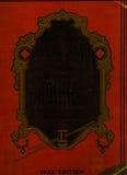 Cubierta de libro roja de Croc del Faux de cuero Fotos de archivo