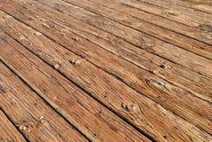Cubierta de madera Foto de archivo