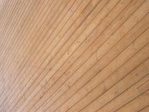 Cubierta de madera Fotografía de archivo libre de regalías