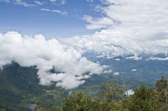 Cubierta de nube Fotos de archivo libres de regalías