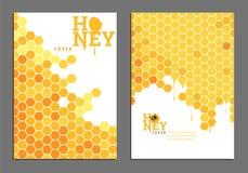 Cubierta de oro brillante de la miel