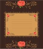 Cubierta de Rose Foto de archivo libre de regalías